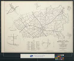 Washington County Maps by General Highway Map Washington County Texas The Portal To Texas