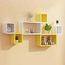 designer shelves custom decor wall shelf set of six designer wall rack shelves