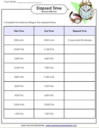 elapsed time activities third grade pinterest elapsed time