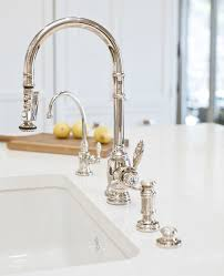 polished nickel kitchen faucet waterstone pulldown polished nickel this is the finish for the