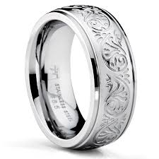 rings engraved images Shop oliveti stainless steel women 39 s wedding band ring engraved jpg