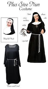 nun habit plus size halloween costume 1x 2x 3x 4x 5x 6x 7x 8x