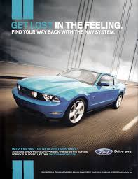 ford mustang ad 2010 ford mustang gt ad get lost in the feeling find your way