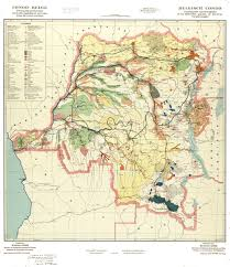 Congo Map Dr Congo Maps