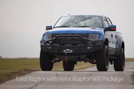 Ford Raptor Super Truck - video hennessey velociraptor 600 takes on stock ford f 150 svt