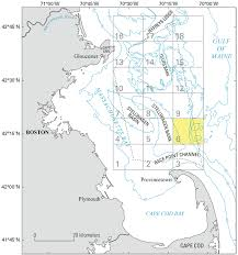 Map Of Eastern Massachusetts by New Map Series Shows Physical Characteristics Of The Seabed And