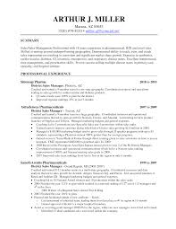 Sample Pharmaceutical Resume Sweet And Operations Executive Resume Professional Sales Manager