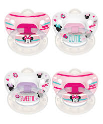 nuk disney minnie mouse orthodontic pacifier set of four nuk disney minnie mouse orthodontic pacifier set of four disney home decorbaby