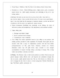Summer Entertainment Internships - himachal tourism hptdc ltd summer internship project report