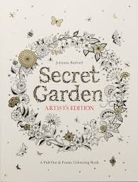 amazon secret garden artist u0027s edition pull frame