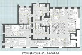 Interior Design Floor Plan Symbols by Office Floor Plan Stock Images Royalty Free Images U0026 Vectors