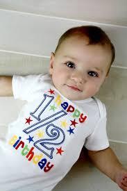 birthday onesie happy 1 2 birthday onesie