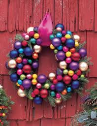 entrancing image of decorative arranged colorful baubles