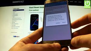 reset android to default reset settings in samsung g930f galaxy s7 restore default settings