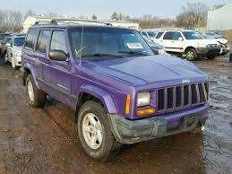 purple jeep cherokee 2000 jeep cherokee sport for sale pa philadelphia salvage cars