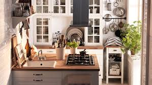 Design Kitchen For Small Space Small Space Ikea
