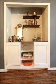 Home Depot Kitchen Cabinet by Creating Custom Built In Cabinets The Home Depot