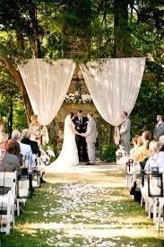 outside weddings outdoor wedding altar ideas