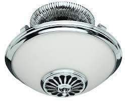 Chrome Bathroom Fan Light Ceiling Fans With Lights Bathroom Lights 1285d1309978275