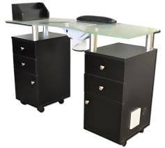manicure tables with ventilation 941 glass top manicure table with vent from italica buy salon