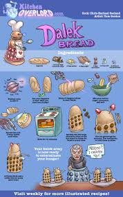 dalek bread o o i am so making this doctor who pinterest