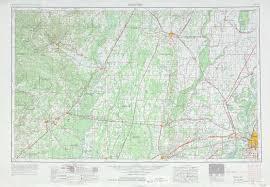 Memphis Map Memphis Topographic Maps Ar Tn Usgs Topo Quad 35090a1 At 1