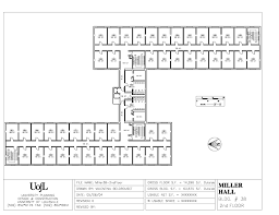 university floor plan miller hall floor plans cus housing