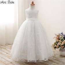 baby white dress for wedding promotion shop for promotional baby