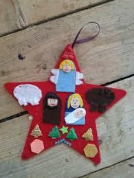 felt nativity ornament 12 days of ornaments