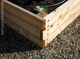 How To Build A Large Raised Garden Bed - gardening raised beds design exprimartdesign com