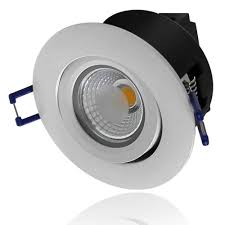 commercial led can lights 5w directional cob led recessed lighting fixture white torchstar