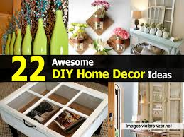 Diy Home Decor by 22 Awesome Diy Home Decor Ideas