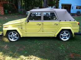 volkswagen thing 1973 vw thing type 181 daily driver