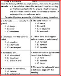 2nd grade reading comprehension worksheets multiple choice worksheets