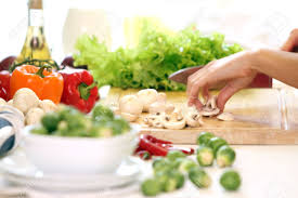 healthly food on the table in the kitchen stock photo picture and