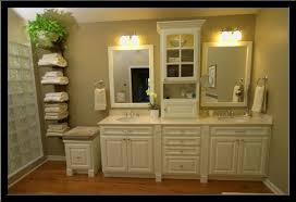 Bathroom Countertop Storage Impressive Bathroom Countertop Cabinets For The On Of Best