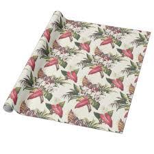 tropical wrapping paper tropical wrapping paper wrapping paper custom diy cyo