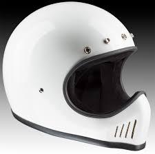 motocross helmets bandit helmets motocross helmet historic design white buy online