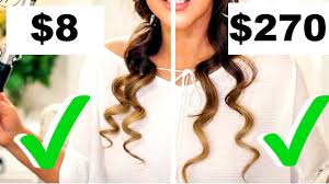8 curling iron curls vs 270 curling iron curls tested