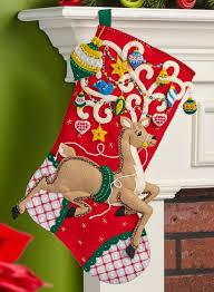 bucilla christmas ornamental deer bucilla christmas kit how to decorate a
