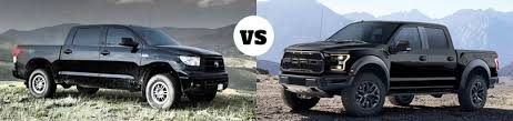 ford raptor vs toyota tundra the ford raptor vs the toyota tundra rock warrior