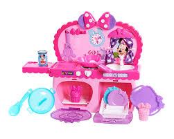 Kitchen Sets For Girls Amazon Com Minnie Bowtastic Kitchen Set Toys U0026 Games