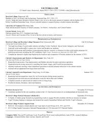 Sample Resumes For Internships For College Students by Bowdoin Career Planning U2013 Resumes