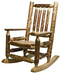 Unfinished Child S Rocking Chair Montana Child U0027s Log Rocker Unfinished Rustic Kids Chairs