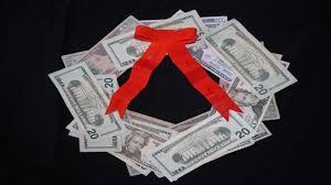 easy money wreath amazing ornaments made of cardboard