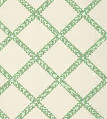 majuli trellis green wallpaper trade routes thibaut