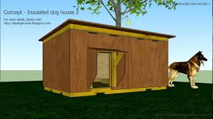 House Dogs by Concept Insulated Dog House 2 Youtube