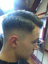 old style hair does of men an old school barber vintage fade mens haircut by paul mac special
