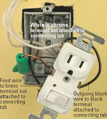 how to wire switches combination switch outlet light fixture