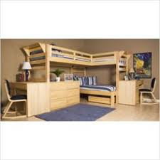 Plans For Building Built In Bunk Beds by A T Shape 2 Bunk Build In Bunk Bed Design With Stairs By The Wall